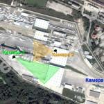 Разположение на камерите на граничен пункт Капъкуле