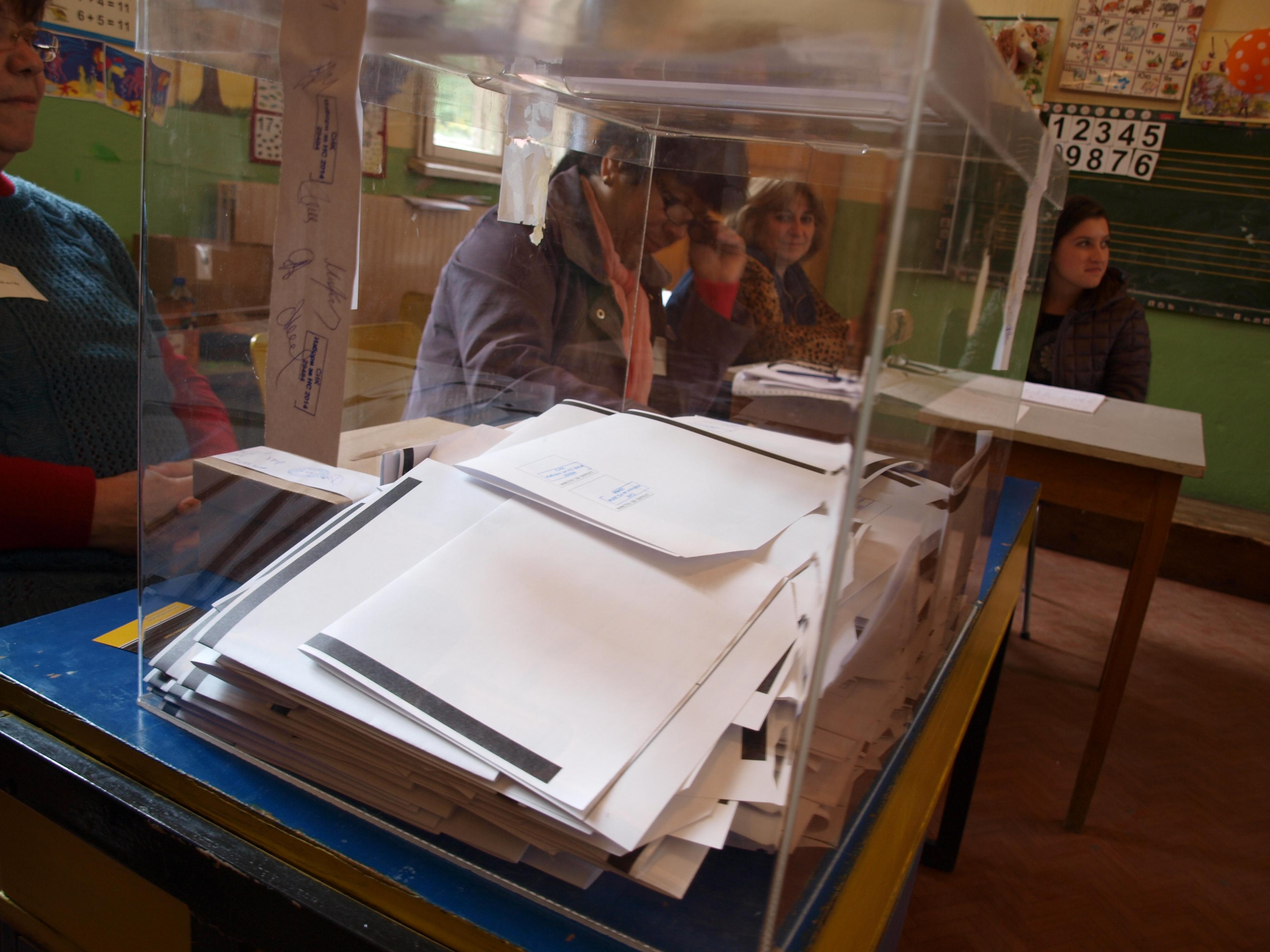 На евроизборите: В 11 секции ще може да се гласува машинно