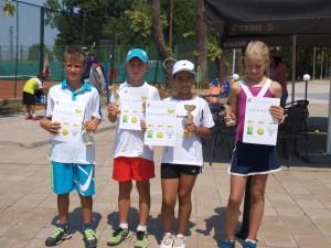 Победителите при децата до 10-годишна възраст