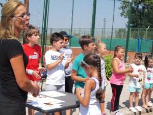 """30 деца взеха участие в турнира """"Тенисът - спорт за всички"""""""