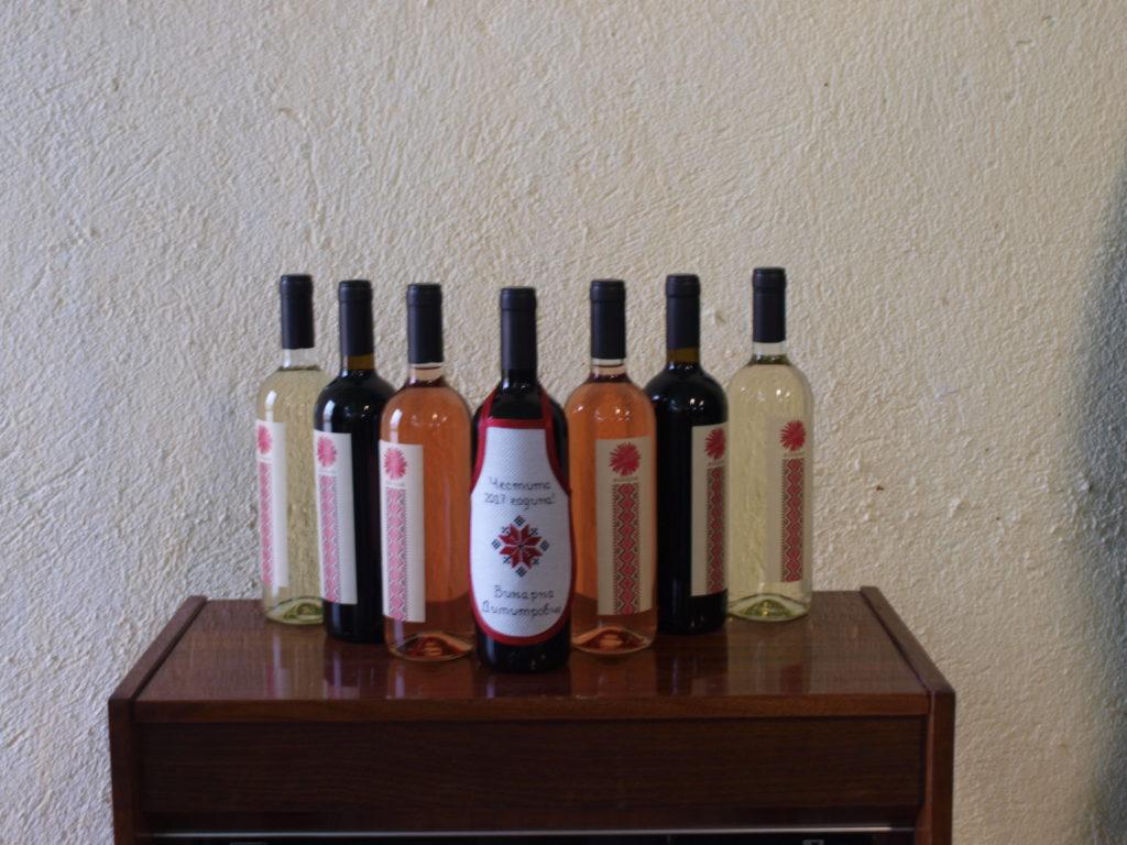 Димитровче, вино