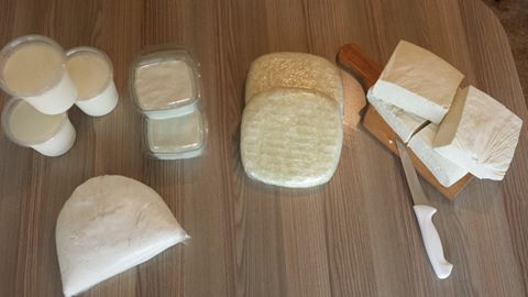 домашно производство, сирене, кашкавал