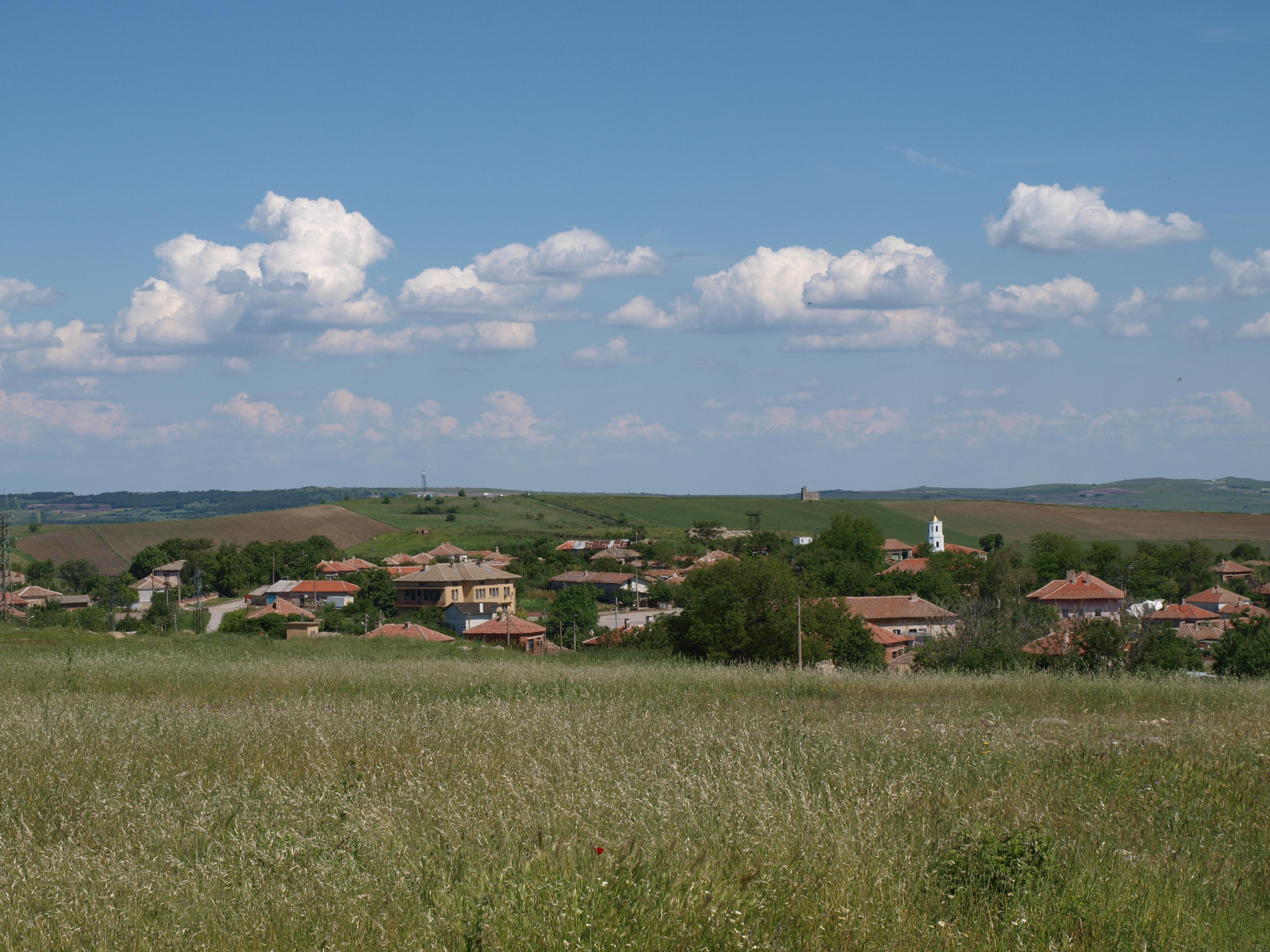 Градушка удари свиленградското село Левка