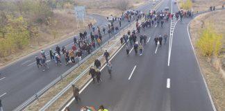 Актове за нарушение получиха участници от протеста в неделя