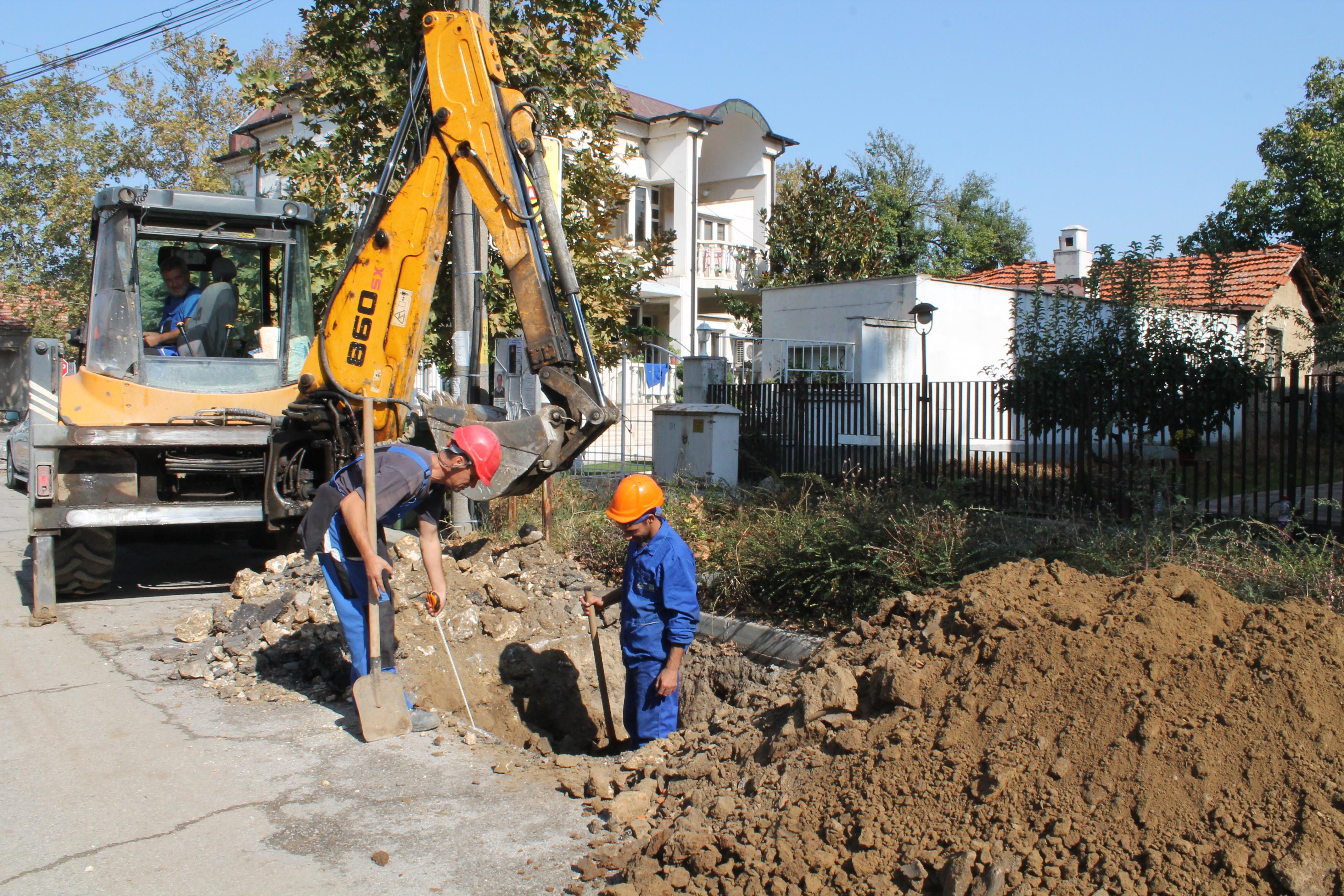Подмениха водопровода на осем улици в Свиленград