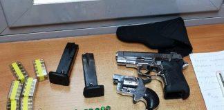 17 газови пистолета и 1330 патрона са задържали митничарите на Капитан Андреево за последните три месеца