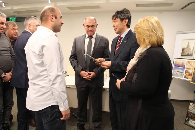 Посланикът на Казахстан на посещение в Свиленград