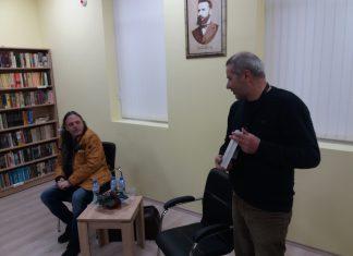Нидал Алгафари гостува на библиотеката в Свиленград