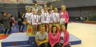 Гимнастичките ни с първо състезание в Пловдив