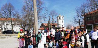 Депутатът от Хасково д-р Георги Станков на Сирница в с.Белица
