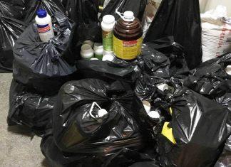 Задържаха 120 л препарати за растителна защита, цигари и злато