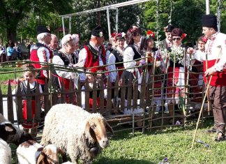 Събор и възстановка за Гергьовден в Капитан Андреево