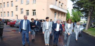 Даниела Дариткова откри в Свиленград ТЕЛК и общежитие за лекари