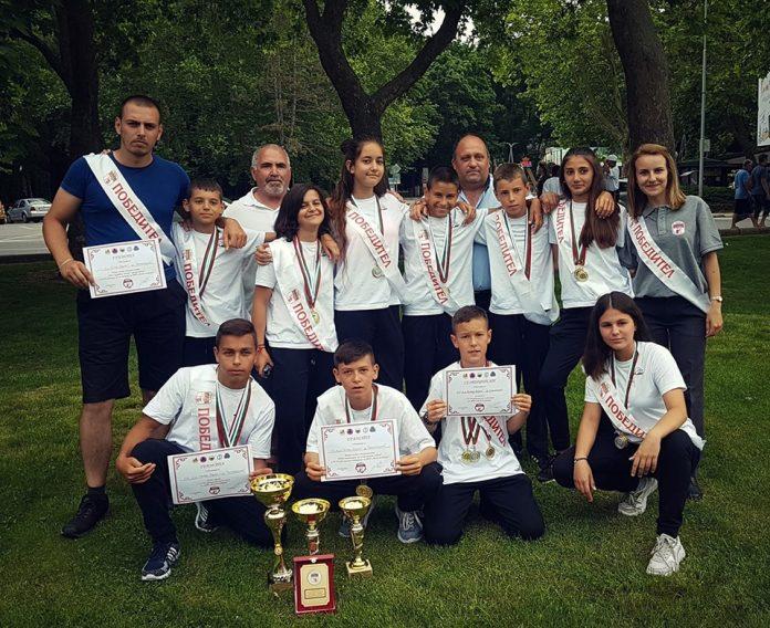 Младите огнеборци на Свиленград първи в Албена