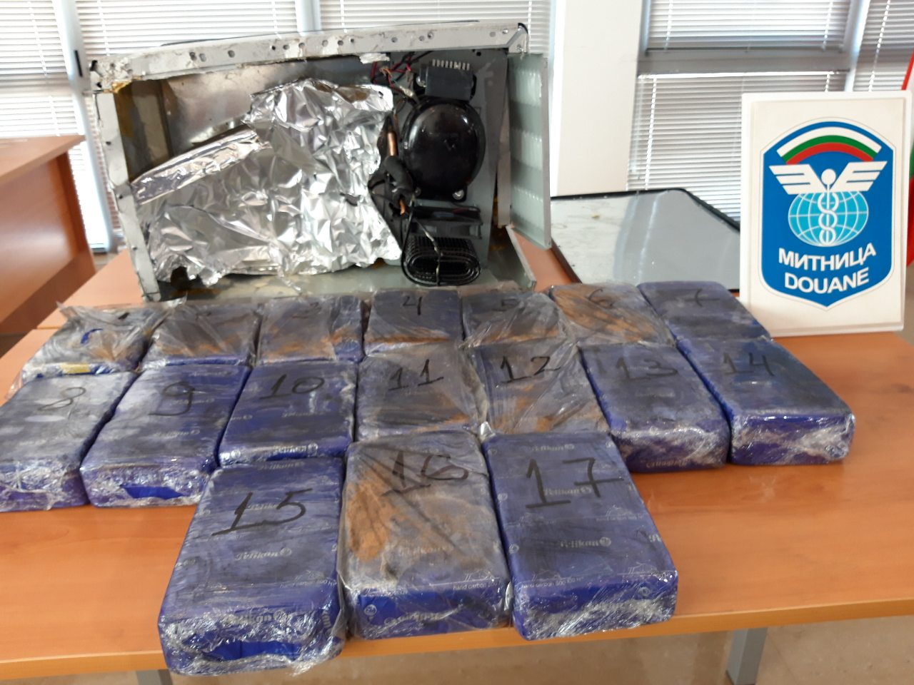 Над 17 кг хероин в хладилна чанта задържаха на Капитан Андреево. Арестуваха и поръчител на пратката