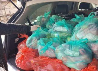 65 семейства досега са получили продукти от хранителната банка