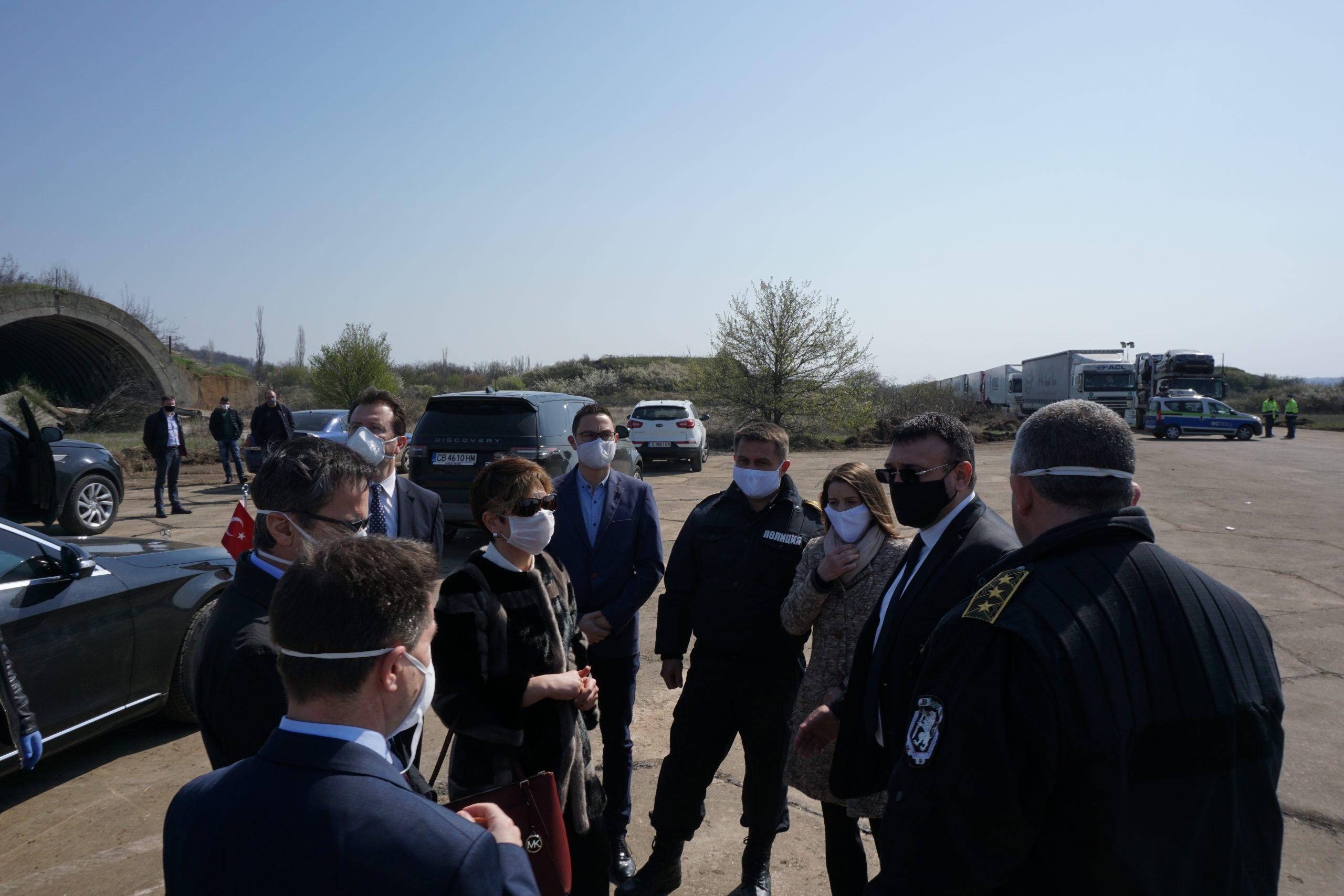Бойко Борисов на Капитан Андреево: Камионите трябва да се движат безпроблемно