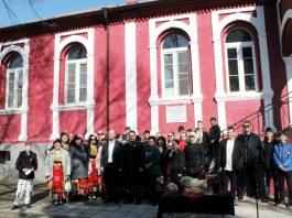 150 метра мартеница и паметна плоча за 150 години читалище в Свиленград