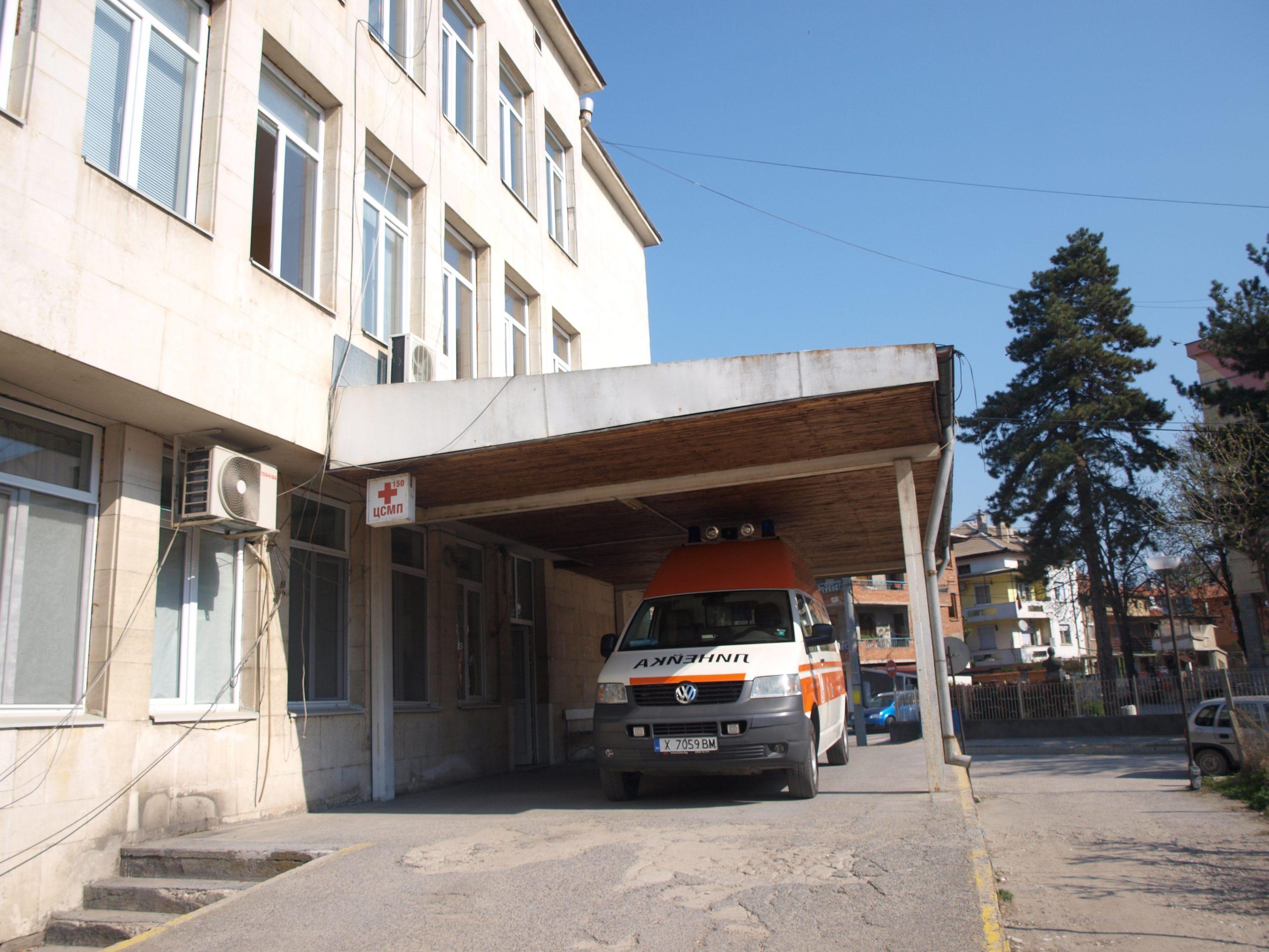 Едната линейка на Спешна помощ за инфектирани с коронавирус