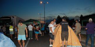 Протестиращи блокираха достъпа до Капитан Андреево