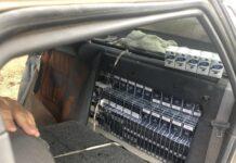 Голямо количество от 100 000 къса цигари без бандерол е конфискувано при специализирана операция на полицията при Свиленград. Двама души са в ареста